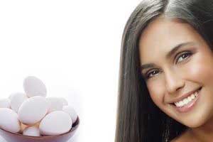 تخم مرغ برای تقویت مو