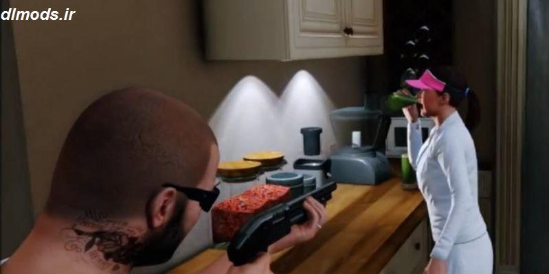 دانلود مد شلیک به دوستان در بازی GTA V