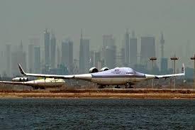 عکس هایی از هواپیمای بویینگ 797 در حال آزمایش
