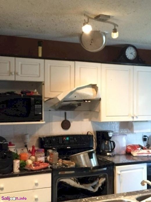 سوژه های دیدنی خرابکاری در آشپزخانه