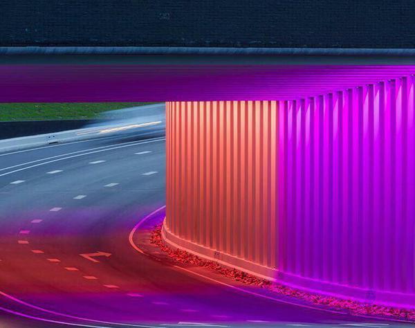 تونلهایی از جنس رنگین کمان + تصاویر