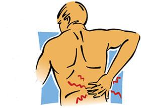 دلایل کمر درد در ورزشکاران