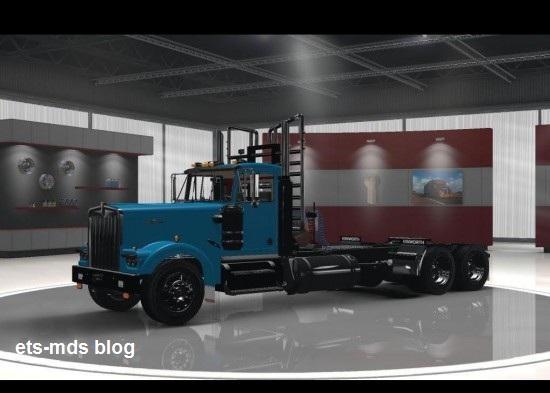 دانلود کامیون فوق العاده kenworth w900 برای ats