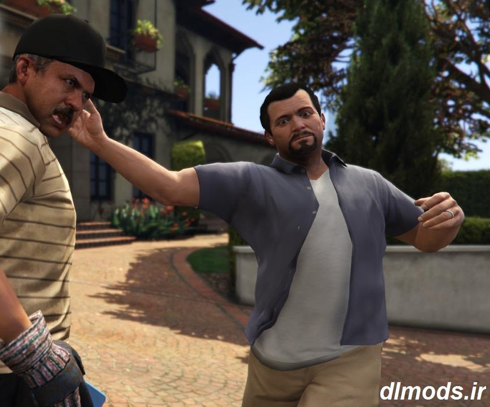 دانلود مد سیلی زدن در بازی GTA V