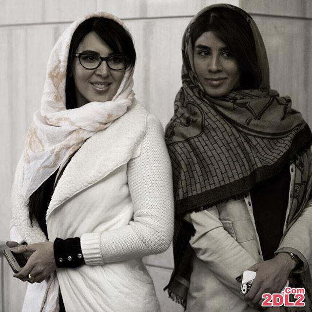 عکس جدید منتشر شده از لیلا بلوکات و خواهرش در جشنواره فیلم فجر