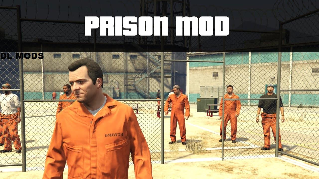 دانلود مد Prison برای GTA V