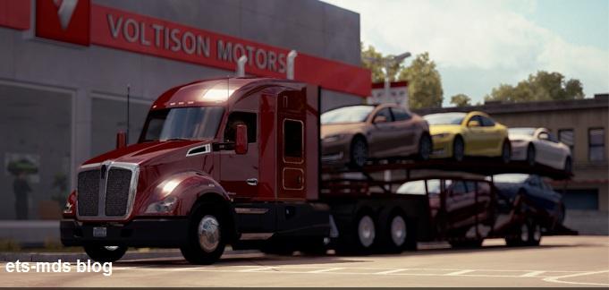 دانلود آپدیت 1.0.0 + کرک برای بازی american truck simulator