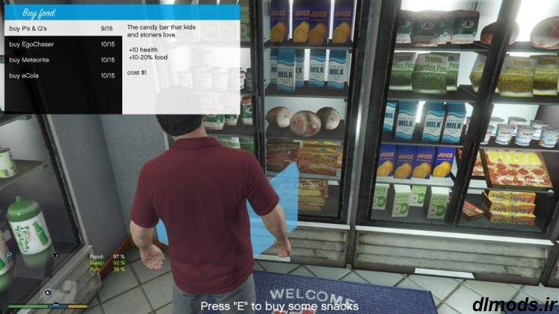 دانلود مد نیاز انسان در بازی GTA V