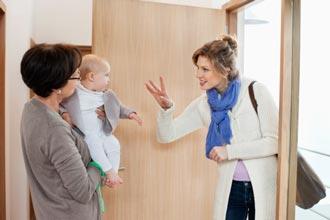 شاغل بودن مادر در هنگام به دنیا آمدن فرزند کاری درست است