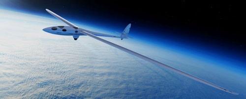گلایدر ایرباس که به مرز فضا میرسد/تماشای زمین با هواپیمای بدون موتور