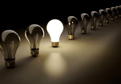 معمای لامپ های روشن