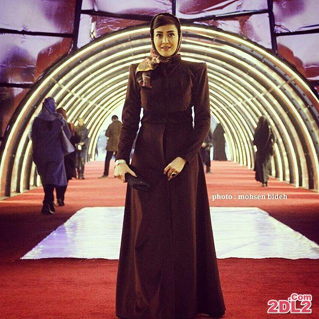 عکس منتشر شده از مریم معصومی در جشنواره فیلم فجر