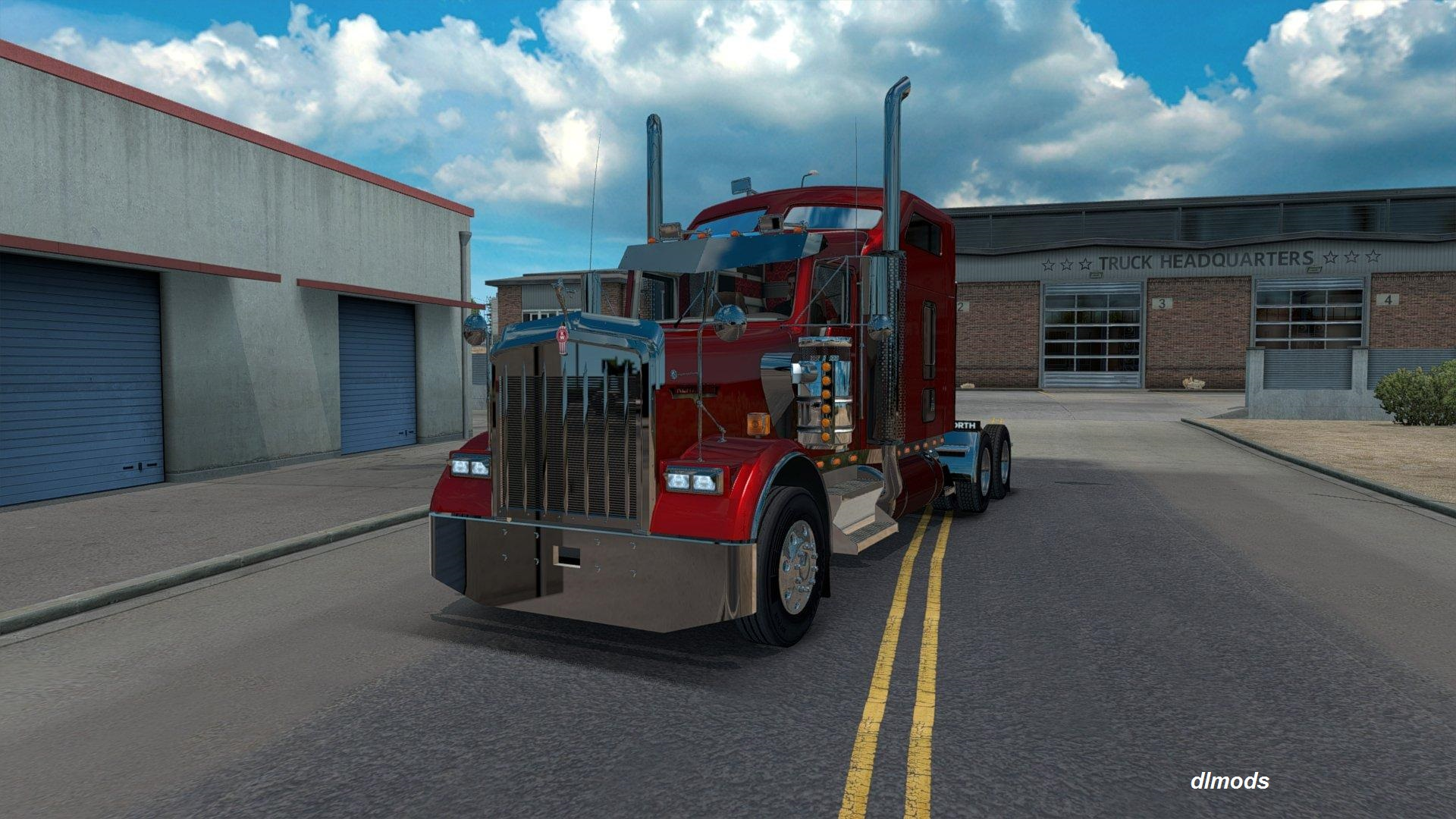 دانلود مد KENWORTH W900 BY SLAVA1 V1.0.0