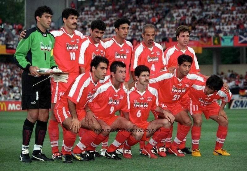 ترکیب کلاسیک تیم ملی ایران سال 1998