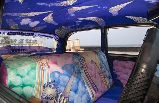 تاکسی های هزار رنگ بمبئی