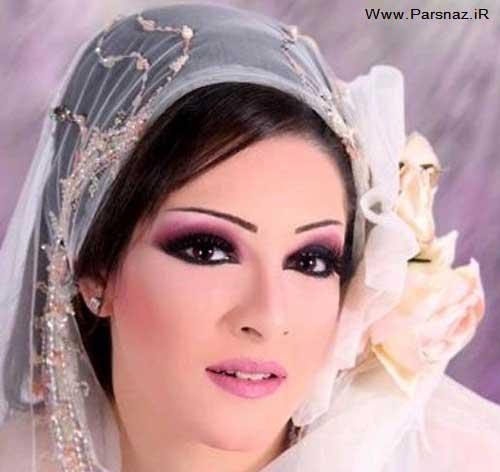 مدل های آرایش عروس عربی