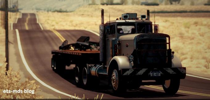 دانلود کامیون فوق العاده Peterbilt 351 ورژن سوم برای بازی ats
