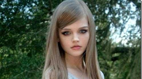 دختری 16ساله که زیبا ترین باربی جهان است