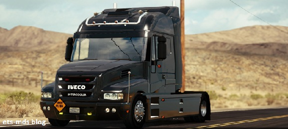 دانلود کامیون فوق العاده زیبای iveco strator ورژن دوم برای ats