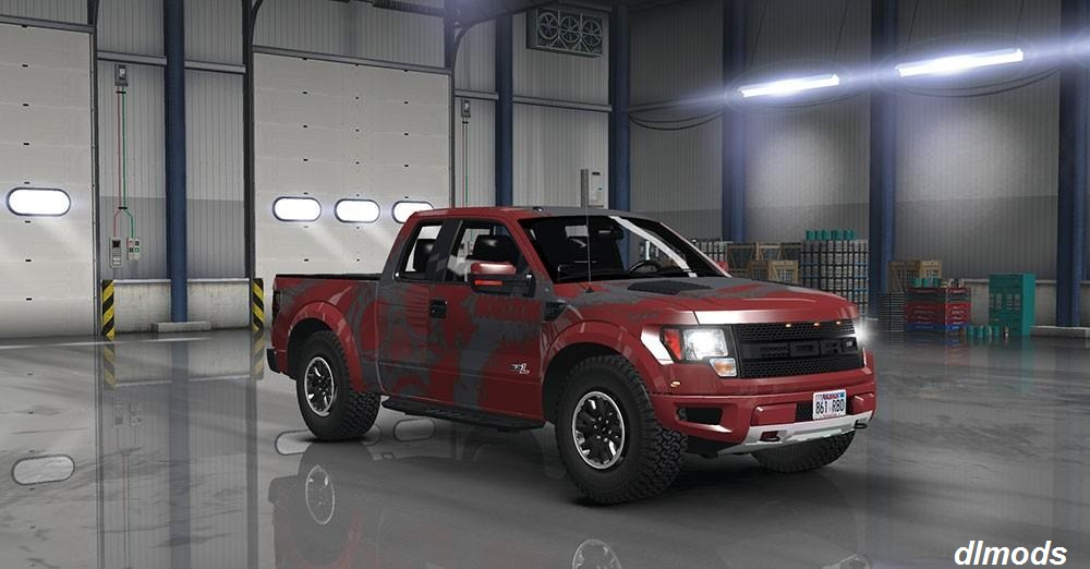 دانلود مد FORD F150 SVT RAPTOR V1.2