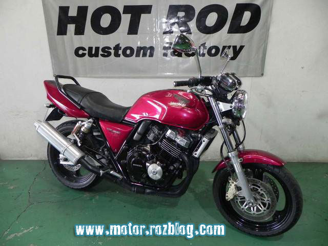 نمایش پست : Honda CB 400 Super Four 1997