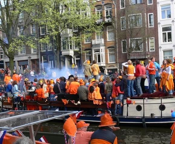 تصاویر دیدنی از جشن تولد ملکه هلند