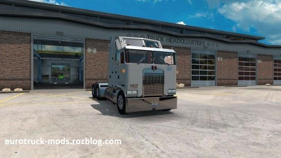 دانلود کامیون فوق العاده kenworth k100 برای american truck