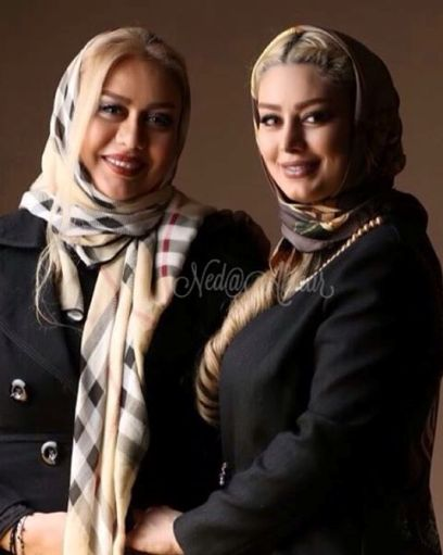 تیپ سحر قریشی و مادرش در جشنواره فیلم فجر! عکس