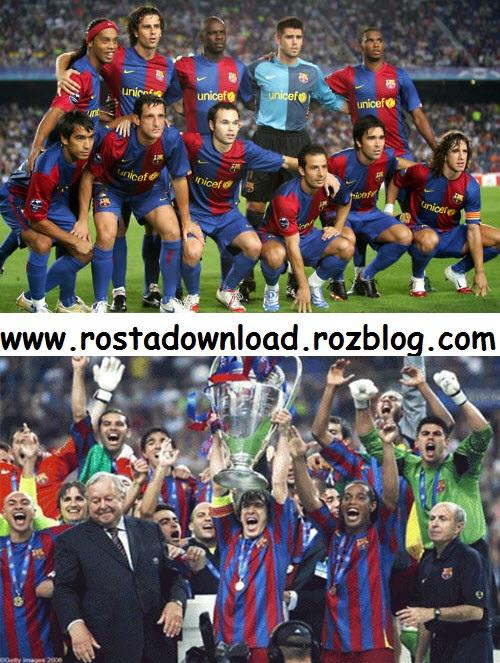 ترکیب کلاسیک تیم بارسلونا بین سالهای 2003 تا سال 2008