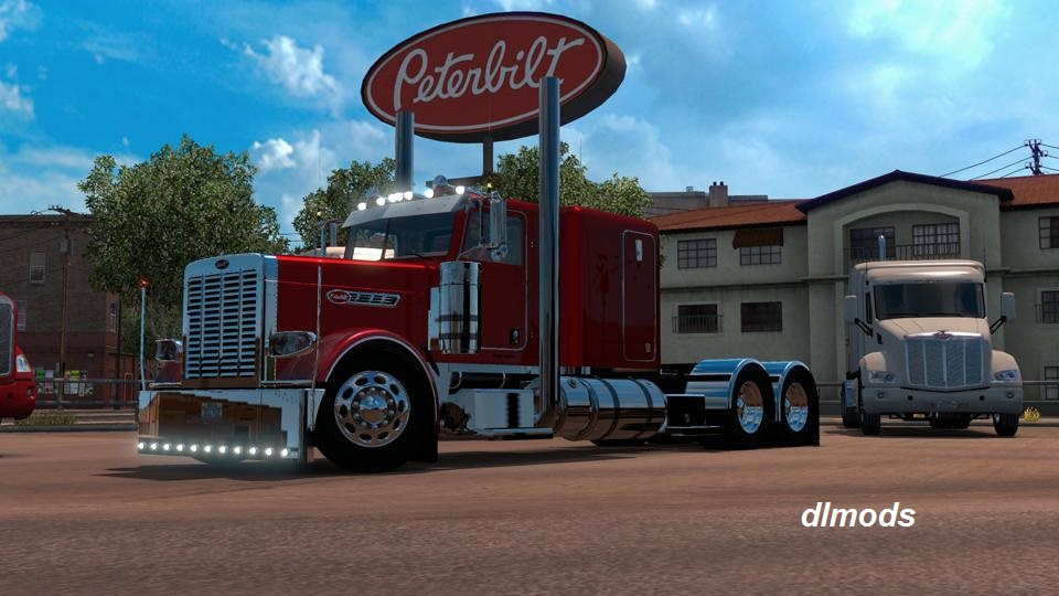 دانلود مد PETERBILT 389 MODIFIED FOR ATS 1.12