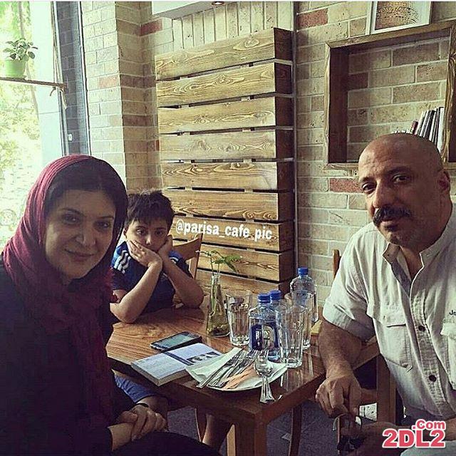 عکس منتشر شده از امیر جعفری در کنار همسر و پسرش