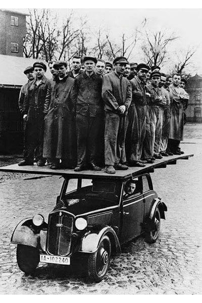 تبلیغ جالب آئودی در 1930+عکس