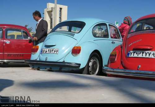 نمایشگاهی از خودروهای قدیمی+تصاویر