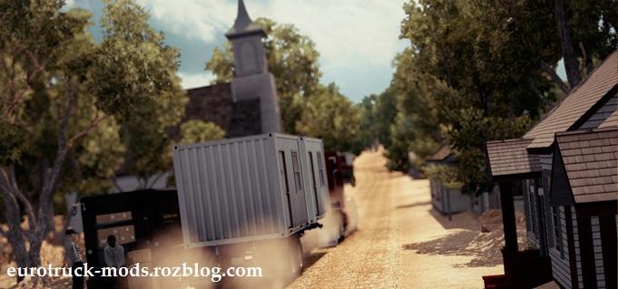مپ فوق العاده آفرود ورژن دوم برای american truck simulator