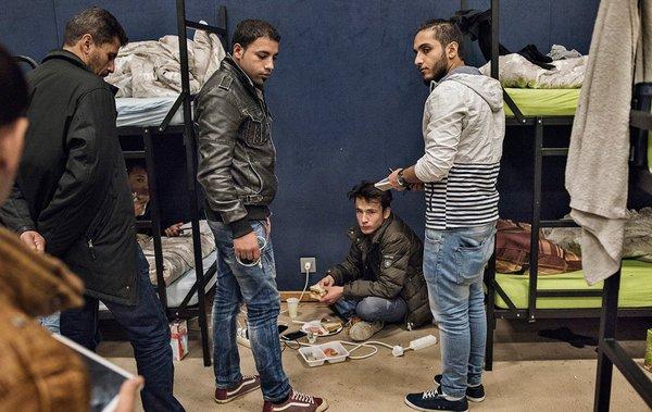 وضعیت آوارگان سوری در آلمان + تصاویر