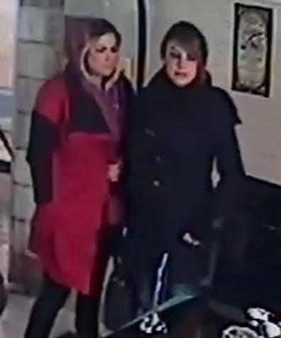 خانمهای جوان مقابل چشمان صاحب نمایشگاه، خودرو دزدیدند+عکس