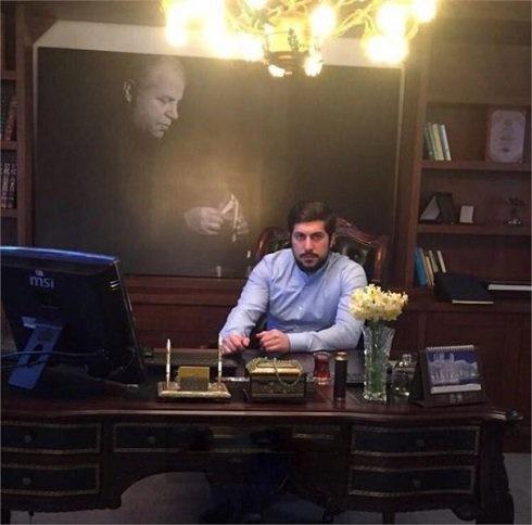 پسر علی پروین در پسافوتبال!/عکس