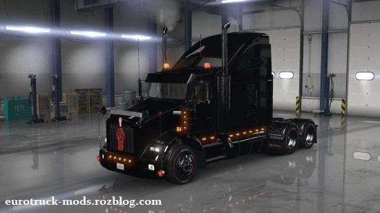 دانلود پک کامیون های ترافیک برای american truck simulator