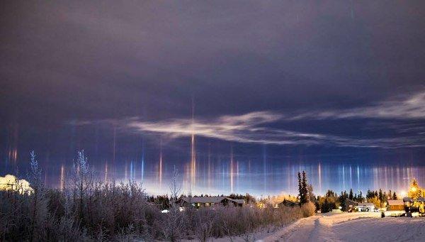پدیده نادر نجومی در آلاسکا+عکس