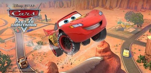 دانلود بازی ماشین های اسباب بازی اندروید Cars: Fast as Lightning