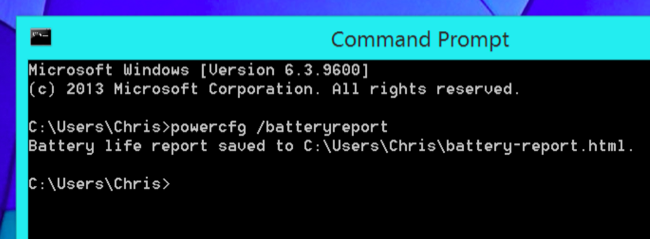عمر مفید باتری لپ تاپ شما چقدر است؟ با یک کد از آن مطلع شوید!