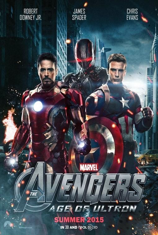 دانلود دوبله فارسی فیلم Avengers Age of Ultron 2015