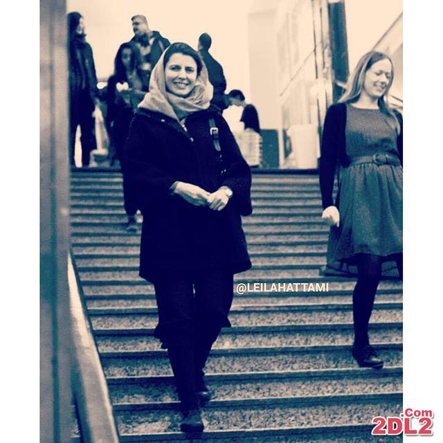 عکس منتشر شده از تیپ جذاب لیلا حاتمی در خارج از کشور