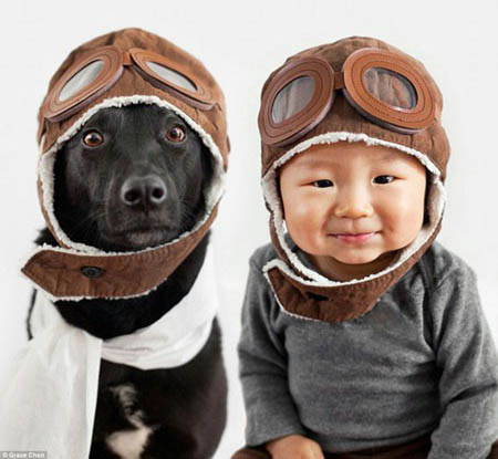 تصاویر جدید کودکان در کنار حیوانات