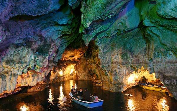 همه چیز غار آبی سهولان - مهاباد