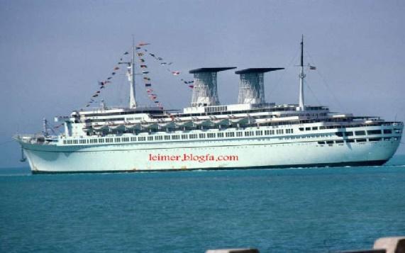 رافائل بزرگترین کشتی تفریحی ایران با سرنوشتی همچون تایتانیک