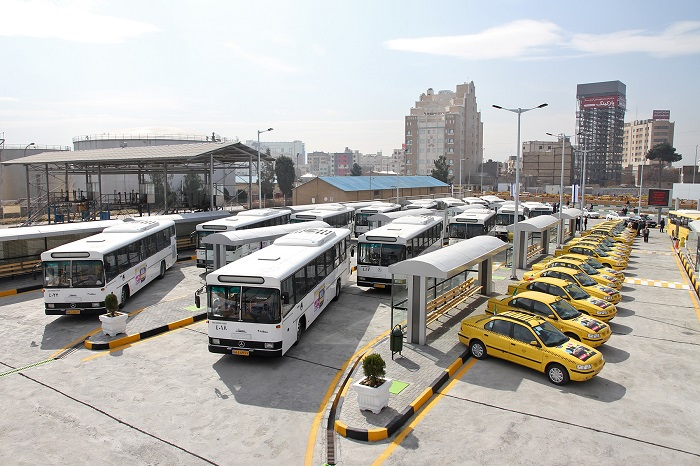 بهرهبرداری از سه پروژه حمل و نقل عمومی مشهد+تصاویر