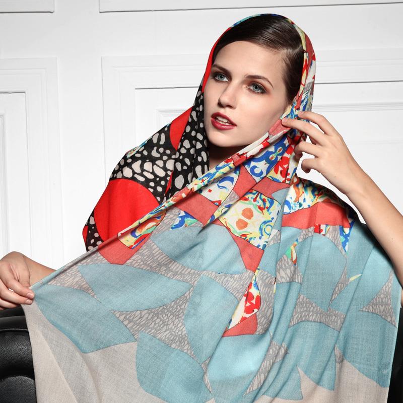 روسری شالی حریر دخترانه