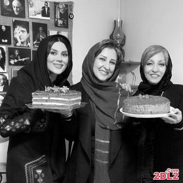 مرجانه گلچین عکسی از جشن تولدش منتشر کرد