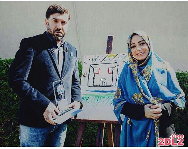 عکس تازه منتشر شده از مجری معروف زن در کنار علی انصاریان